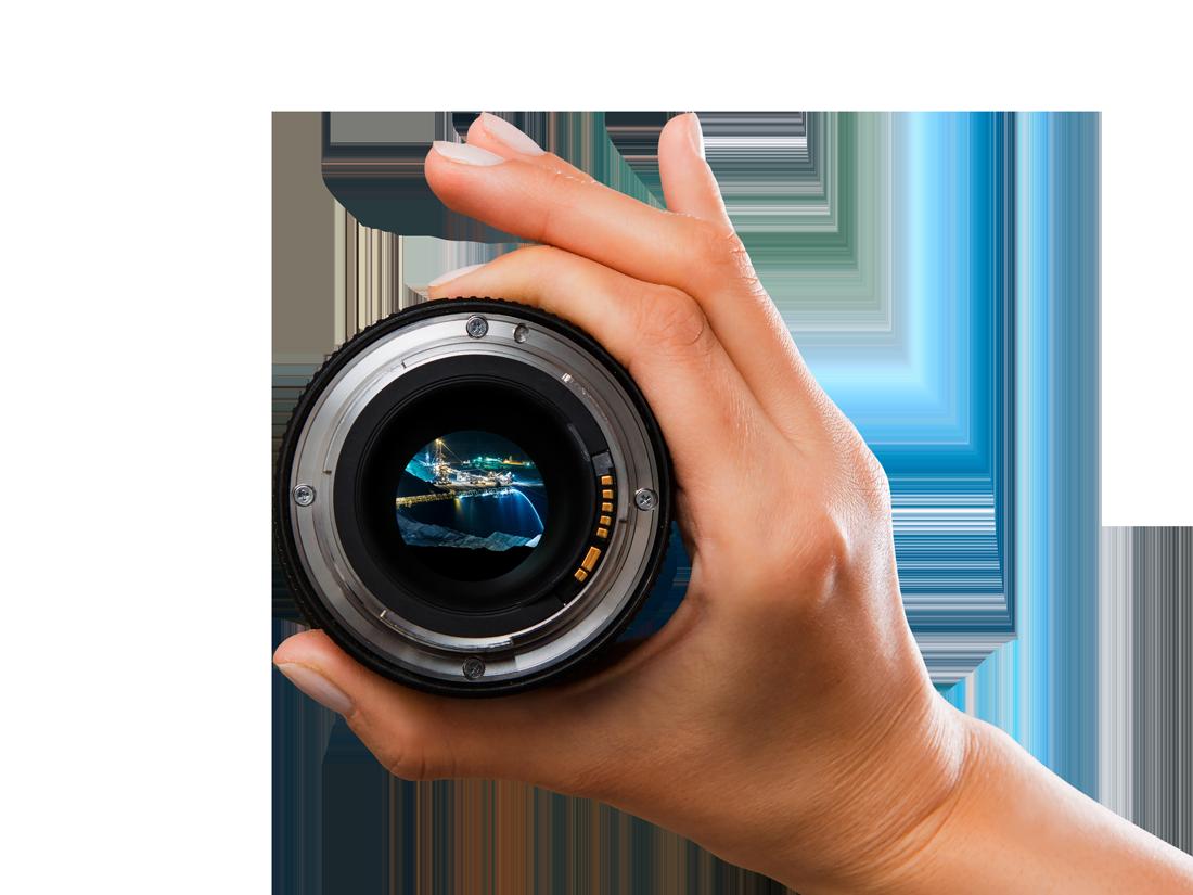 lens-hand